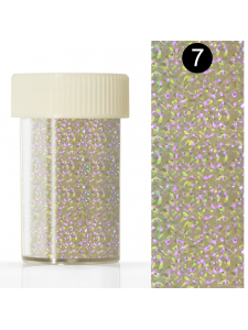 Nail art foil  in a jar (4*110 cm) №7, KODI