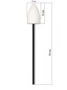 Corundum nozzle for pedicure  С207wk, KODI