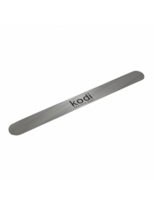 Metal basis for a file for a manicure of a direct form (size: 180/20 mm), KODI