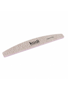 "Nail file ""Crescent"" 100/100 (color: dark gray, size: 178/30/5), KODI"