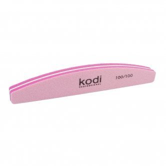 "Photo - Buff polish ""Crescent"" 100/100 (Color: Pink), KODI from KODI PROFESSIONAL"