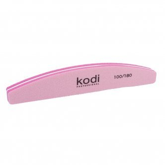 "Photo - Buff polish ""Crescent"" 100/180 (Color: Pink), KODI from KODI PROFESSIONAL"