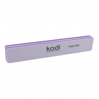 Photo - Buff polish rectangular 100/100 (color: lilac), KODI from KODI PROFESSIONAL