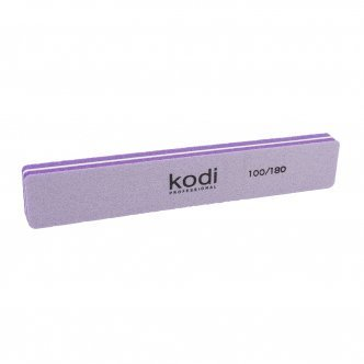 Photo - Baf for nails rectangular 100/180 (color: lilac), KODI from KODI PROFESSIONAL