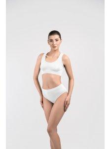 "Women's Panties, Model ""Slip"" (Color: White, Size M), KODI"