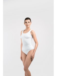 T-shirt with Wide Straps (Color: White, Size M), KODI