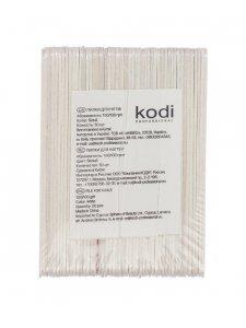 Set of Nail Files 100/100, Color: White (50pcs/pack), KODI
