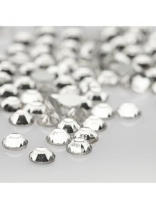 "Decorative Crystals ""Crystal"", Size SS 04 (200 pcs/pack), KODI"
