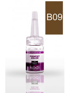 Eyebrow pigment B09 (Medium brown) 10 ml, KODI